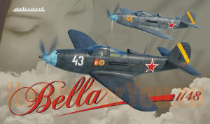 "11118 Набор 2 самолета P-39 Airacobra ""Bella""  Russian Air Force  (Eduard) 1/48"