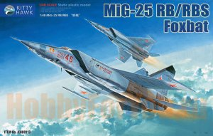 KH80113 Самолет MiG-25 RB/RBS Foxbat (Kitty Hawk) 1/48