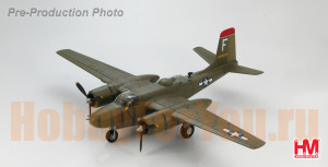 HA3208 Самолёт A-26B Invader 44-34374 13th BS/3rd BG Atsugi Japan late 1945 (HobbyMaster) 1/72