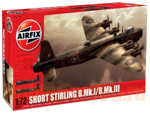 07002 Бомбардировщик Shorts Stirling BI/II  (AIRFIX) 1/72