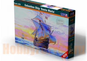 "D-212 Парусник Columbus Ship ""Santa Maria"" (MISTERCRAFT) 1/270"