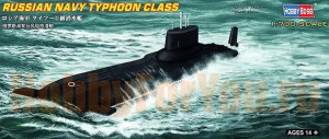 87019  Подводная лодка Russian Navy Typhoon Class (Hobby Boss) 1/700