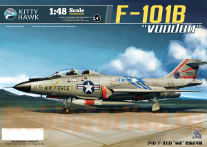 KH80114  Самолет F-101b Voodoo (KITTY HAWK) 1/48