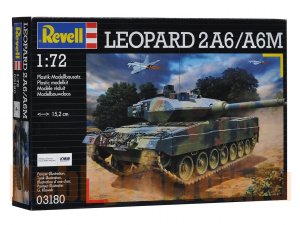 03180 Танк Leopard 2 A6M (REVELL) 1/72