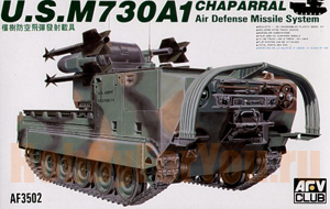 AF35002 Танк M730A1 Chaparral (AFV CLUB) 1/35
