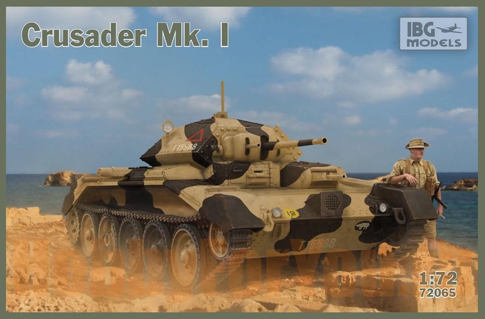 Hasegawa 1//72 Crusader Mk III 31126