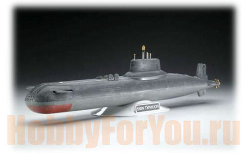 ракетный подводный крейсер 941 «акула» фото