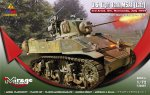 726087 Танк U.S. Light Tank M5A1 (Late) 3rd Armd. Div. Normandy, July 1944 (Mirage Hobby) 1/72