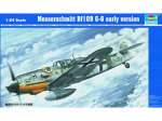 02407 ������� ����������� Bf-109 G-6 (Trumpeter) 1/24