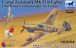 FB4007 Самолёт Curtiss Tomahawk MK.II B Fighter The British Commonwealth  (Bronco Models) 1/48