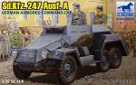 CB35095	Бронемашина  Sd.Kfz. 247 Ausf. A German armored command car (Bronco Models) 1/35
