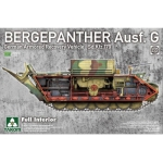 2107  Bergepanther Ausf.G German Armored Recovery Vehicle Sd.Kfz.179 w full interior kit(Takom) 1/35