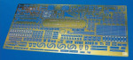 72145	 Фототравление ESCORT CARRIER USS GAMBIER BAY DETAIL UP ETCHING PARTS SUPER (HASEGAWA) 1/350