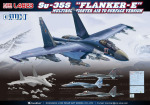 "L4823 Самолет Su-35S ""Flanker E"" Multirole Fighter Air to Surface Version (Great Wall) 1/48"
