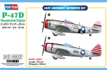 85811  Самолет P-47D Thunderbolt Fighter (Hobby Boss) 1/48