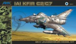 88001 Самолет Israeli Air Force Kfir C2/C7  (AMK) 1/48