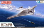 FD-18001 ������� ���� U.S NAVY UCAS X-47B (Freedom Model Kits) 1/48