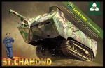 2012 Танк French Heavy Tank St.Chamond (Takom) 1/35