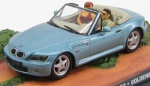 BMW Z3 golden eye 1995 light blue (Jemes Bond Car Collection) 1/43