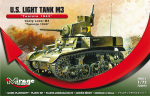 726073 Танк U.S. Light Tank M3  TUNISIA 1943 (Mirage Hobby) 1/72