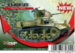 726075 Танк U.S. M3A1 LATE  PACIFIC 1943 (Mirage Hobby) 1/72