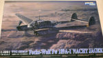 L4801 Самолет Focke-Wulf Fw189A1 Nacht Jager  WWII German (Great Wall) 1/48