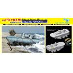 6916Д Танк IJN Type 2 (Ka-Mi) Amphibious Tank w/Floating Pontoon Early Production (DRAGON) 1/35