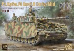 BT-005 Танк  Panzer IV H EARLY/MIDDLE (2 IN 1)  (BORDER MODEL) 1/35