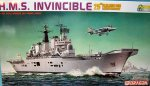 7072Д Авианосец HMS Invincible  (Dragon) 1/700