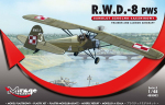 485002 Самолёт R.W.D.-8 PWS (Trainer and Liason plan version) (Mirage Hobby) 1/48
