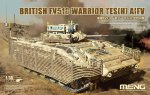 SS-017 БМП Infantry Fighting Vehicle British FV510 Warrior TES(H) AIFV (MENG) 1/35