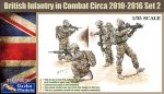 35GM0016 Современная английская пехота UK Infantry In Combat 2010/2012 Set 2 (GECKO MODELS) 1/35