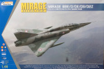 K48054 Самолет Mirage IIIBE/D/DE/DS/D2Z ( KINETIC) 1/48