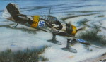"SH72116  Самолет Fokker D.XXI 4. sarja ""Wing with Slots"" (Special Hobby) 1/72"