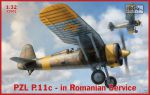 IBG32002 Самолет PZL P.11c Fighter in Romanian Service (IBG models) 1/32
