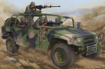 82469  ����������  Dong Feng Meng Shi 1.5 ton Military Light Utility Vehicle (Hobby Boss) 1/35