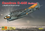 92247	Самолет Caudron C-445 Luftwaffe	4 decal v. for Luftwaffe, Slovakia (RS models) 1/72