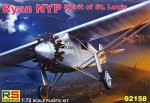 "92158 Самолет Ryan NYP ""Spirit of St. Louis""  2 decal v. for USA. Japan (RS models) 1/72"