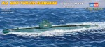 87010 Подводная лодка: PLA Navy Type 033 submarine (Hobby Boss) 1/700