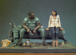 SG-S01 Миниатюра: The The Jungle Meal (Vietnam 1970) (54mm) (метал) (ANDREA MINIATURAS)