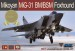 88003-S Самолет Mikoyan MiG-31BM/BSM Foxhound Limited Edition (AMK) 1/48