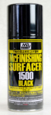 B-526 Грунтовка спрей 170мл Mr.Finishing surfacer 1500 black (Mr.Hobby)