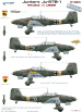 48026 Декаль Ju-87 B-1 (Operation Barbarossa) (Colibri) 1/48