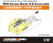 PE 35226 Фототравление: 1/35 WWII German Marder III M Amour plate (For TAMIYA 35255)
