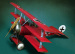 S3-S02 Миниатюра: Red baron`s fighter plane (54mm) (метал) (ANDREA MINIATURAS)