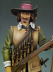 S8-F04 Миниатюра: Musketeer 1643 (90mm) (метал) (ANDREA MINIATURAS)